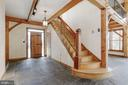 Charming wood/timber frame throughought - 36913 PAXSON RD, PURCELLVILLE