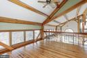 Third bedroom open to downstairs - 36913 PAXSON RD, PURCELLVILLE