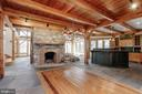 Details of woodwork and stone throughout - 36913 PAXSON RD, PURCELLVILLE