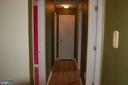 Upstairs hallway - 7003 SOULIER LN, FREDERICKSBURG