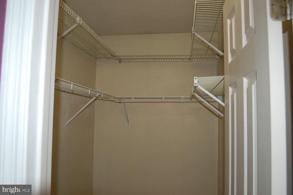 Master bedroom walk-in closet - 7003 SOULIER LN, FREDERICKSBURG