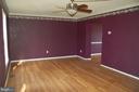 Living room - 7003 SOULIER LN, FREDERICKSBURG