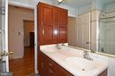 Main Level Bath with Double Sinks - 2259 N WAKEFIELD ST, ARLINGTON