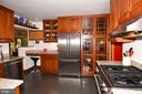 Kitchen with Stainless Steel Appliances - 2259 N WAKEFIELD ST, ARLINGTON