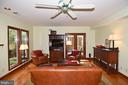 Family Room with Ceiling Fan - 2259 N WAKEFIELD ST, ARLINGTON