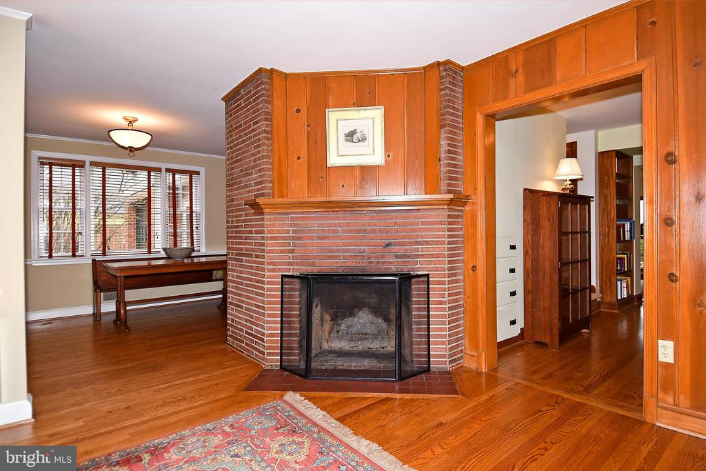 Living Room with Views of Dining Room and Study - 2259 N WAKEFIELD ST, ARLINGTON