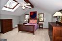 Master Bedroom  with Ceiling Fan - 2259 N WAKEFIELD ST, ARLINGTON