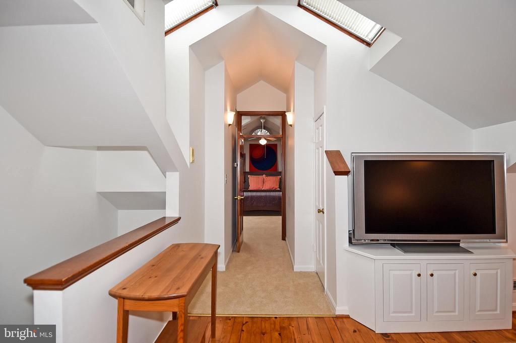 View of Master Bedroom from the Media Room - 2259 N WAKEFIELD ST, ARLINGTON