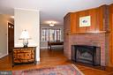 Living Room with views of Foyer and Dining Room - 2259 N WAKEFIELD ST, ARLINGTON