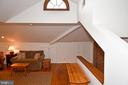 Media Room with Pine Flooring - 2259 N WAKEFIELD ST, ARLINGTON