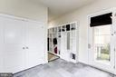 mud room with extensive built-ins - 208 MCHENRY ST SE, VIENNA