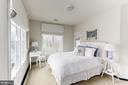 Bedroom 2 - en suite bath. Balcony access - 208 MCHENRY ST SE, VIENNA