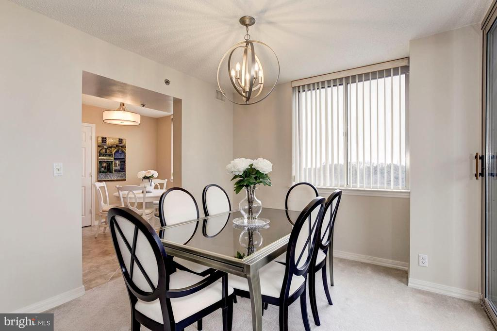 Dining Room - 5809 NICHOLSON LN #811, ROCKVILLE