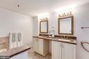 Renovated Spa Master Bath - 5809 NICHOLSON LN #811, ROCKVILLE