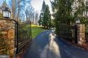 Gate Leading to 3 Car Garage - 1049 BROOK VALLEY LN, MCLEAN
