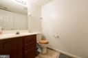 Lower Level Half Bathroom - 13169 THRIFT LN, WOODBRIDGE