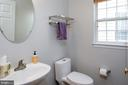 Main level powder room - 6857 ROLLING CREEK WAY, ALEXANDRIA