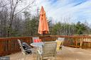 Huge rear deck - 6857 ROLLING CREEK WAY, ALEXANDRIA