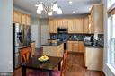 Brand new stainless steel appliances - 6857 ROLLING CREEK WAY, ALEXANDRIA
