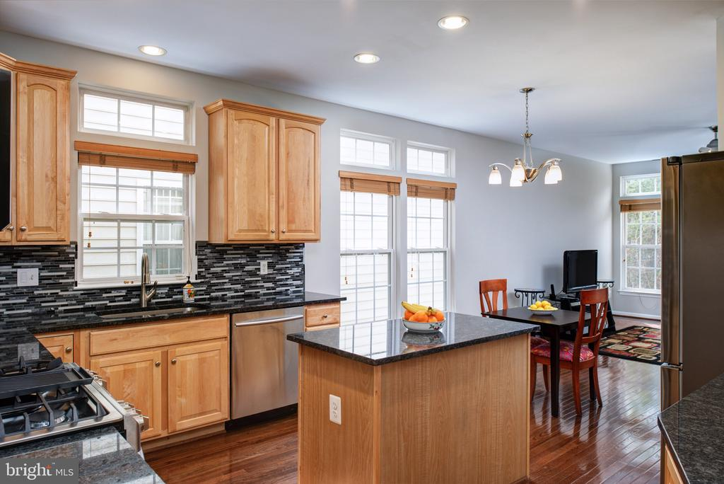 Newly renovated kitchen - 6857 ROLLING CREEK WAY, ALEXANDRIA