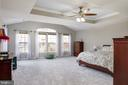 Enormous master with tray ceiling - 6857 ROLLING CREEK WAY, ALEXANDRIA