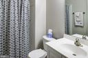 Lower level full bath - 6857 ROLLING CREEK WAY, ALEXANDRIA