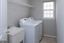 Laundry on bedroom level - 6857 ROLLING CREEK WAY, ALEXANDRIA
