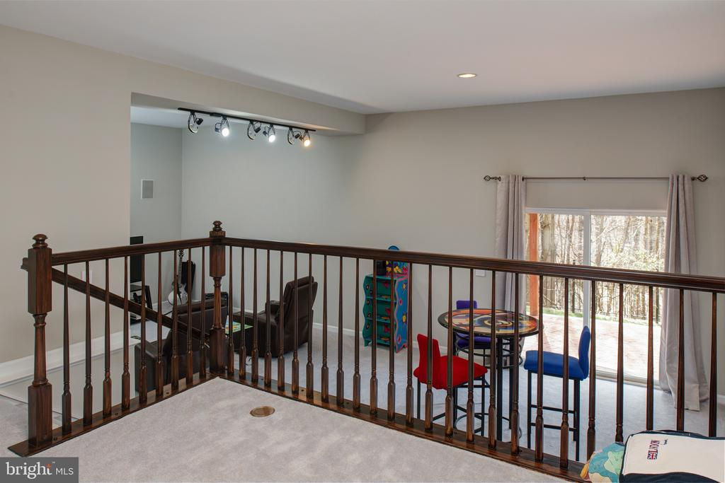 Lower level with step down to more space! - 6857 ROLLING CREEK WAY, ALEXANDRIA