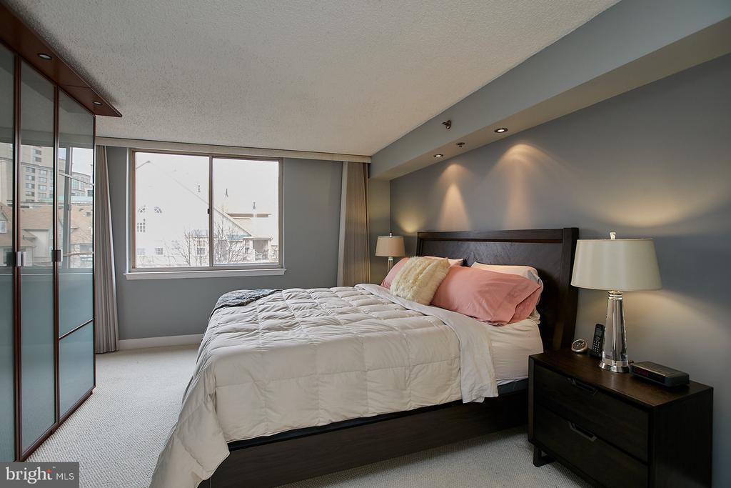 Master bedroom number 1 - 1276 N WAYNE ST #418, ARLINGTON