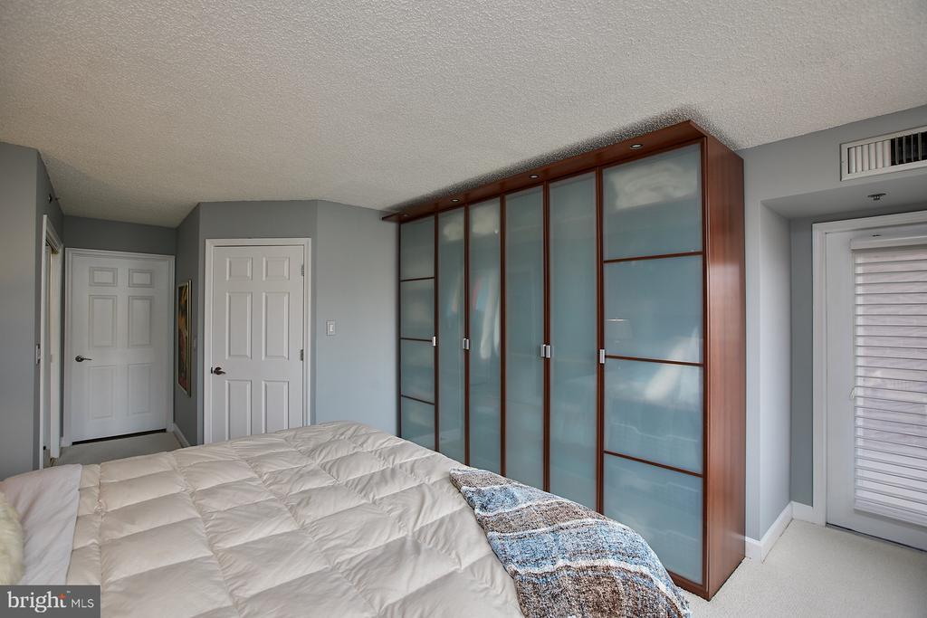 Built in wardrobe and access to 2nd balcony - 1276 N WAYNE ST #418, ARLINGTON