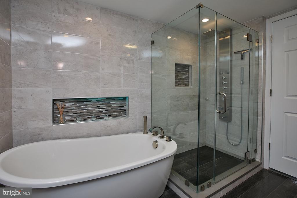 Separate shower and soaking tub - 1276 N WAYNE ST #418, ARLINGTON