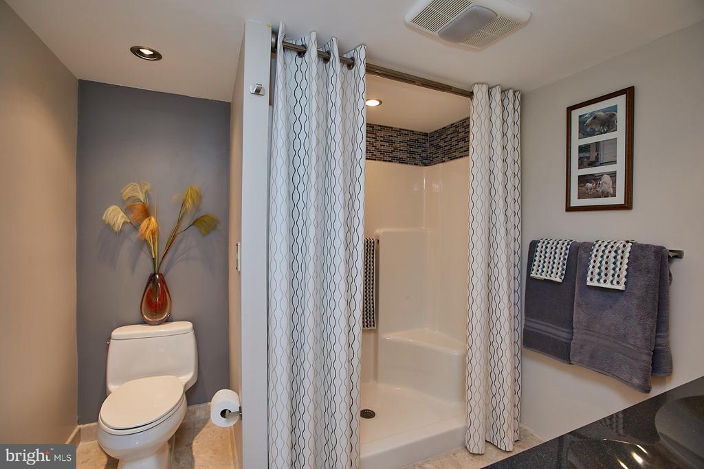 updated master bath 2 - 1276 N WAYNE ST #418, ARLINGTON
