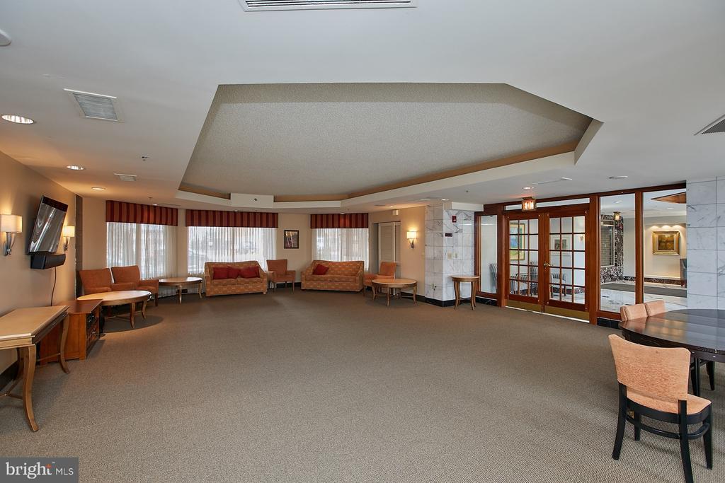 Community Party room - 1276 N WAYNE ST #418, ARLINGTON