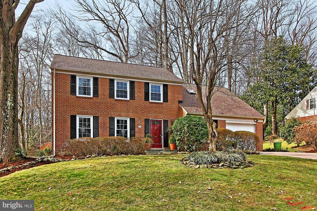 Front yard - 8235 TOLL HOUSE RD, ANNANDALE