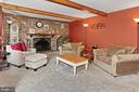 Family room - 8235 TOLL HOUSE RD, ANNANDALE