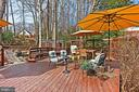 Outdoor living - 8235 TOLL HOUSE RD, ANNANDALE