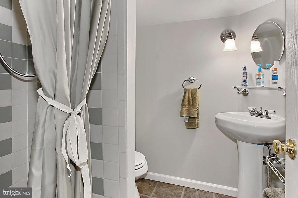 Lower level 3rd bath - 8235 TOLL HOUSE RD, ANNANDALE