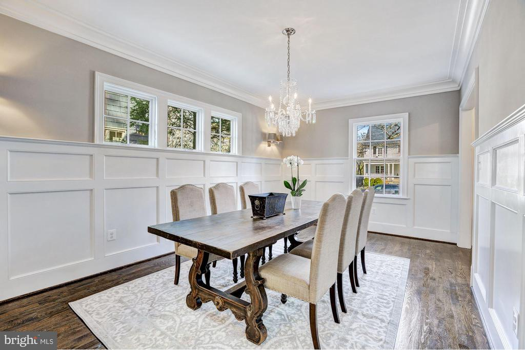 Formal Dining Room - 12 HESKETH ST, CHEVY CHASE