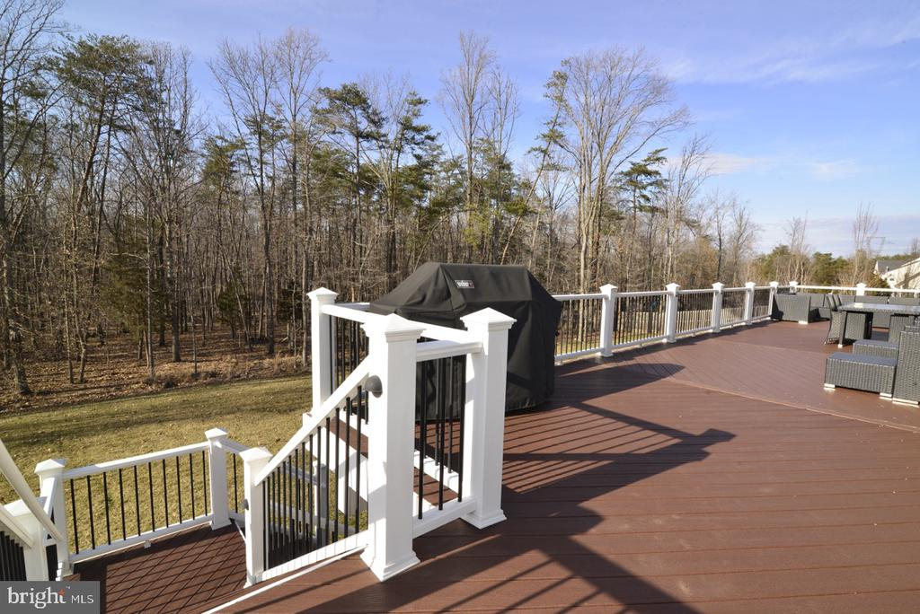 Custom Composite Deck w/ Stairs - 22333 PASTURE ROSE PL, BROADLANDS