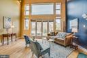 Beautiful Family room w/ top to bottom windows - 717 KENMORE AVE, FREDERICKSBURG