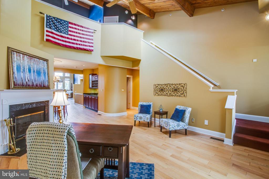 Living Room and loft bedroom - 717 KENMORE AVE, FREDERICKSBURG