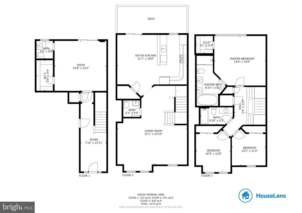 Floorplan of home - 6255 CASDIN DR, ALEXANDRIA