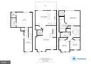 Floorplan of home - 6255 CASDIN DR, ALEXANDRIA