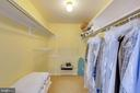 Expansive walk-in closet - 11423 COMMONWEALTH DR #301, ROCKVILLE