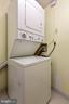Washer and dryer in unit - 11423 COMMONWEALTH DR #301, ROCKVILLE