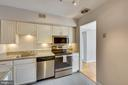 Updated kitchen - 11423 COMMONWEALTH DR #301, ROCKVILLE