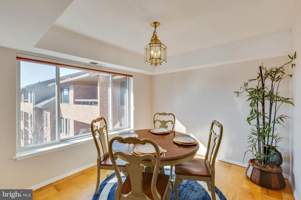 Separate dining room - 11423 COMMONWEALTH DR #301, ROCKVILLE