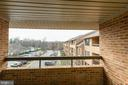 Large balcony - 11423 COMMONWEALTH DR #301, ROCKVILLE