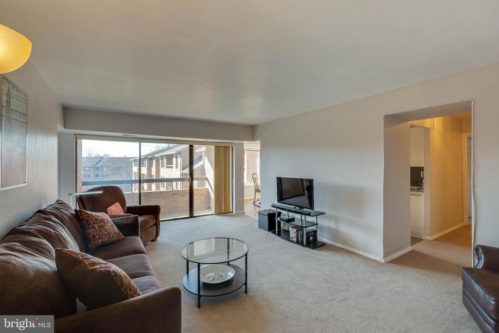 Living room - 11423 COMMONWEALTH DR #301, ROCKVILLE