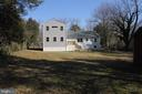1/2 acre fenced in backyard with plenty of shade - 5201 MOUNT VERNON MEMORIAL HWY, ALEXANDRIA